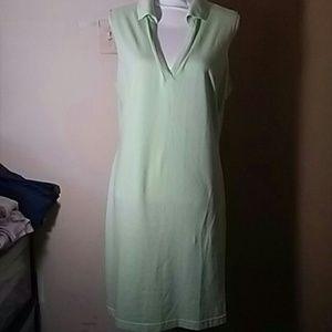 Spring Green tank dress
